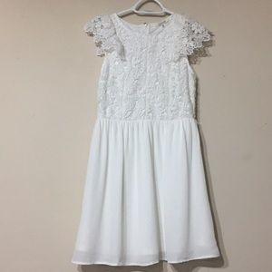 NWT Francesca's white dress